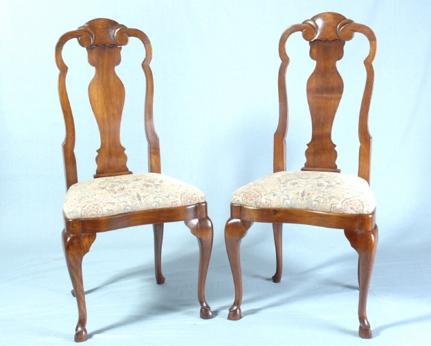 Chairs, set of six, Holland, c.1770