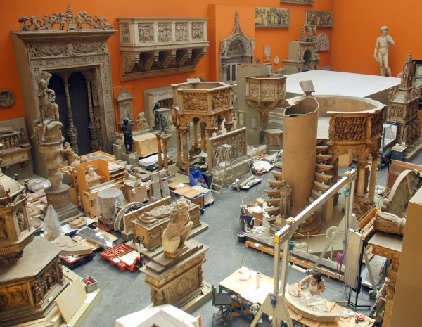 Victoria and Albert Museum - Casts Rooms