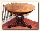 Dutch Walnut & Marquetry Center Table, Netherlands, c.1775.