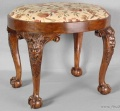 Walnut Stool, England, c.1830